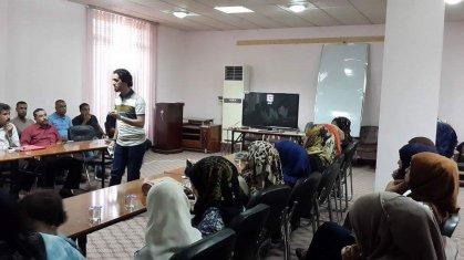 ندوة تثقيفية لمديرية شباب الديوانية بصدد اليوم العالمي للشباب