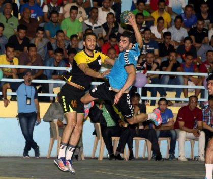 منتخب كرة اليد يواصل تحضيراته لبطولة ايران الدولية باللعبة