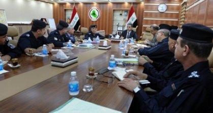 الغبان يؤكد على ضرورة ازالة مظاهر الفساد المشوهة لعمل وزارة الداخلية من قبل ضعاف النفوس