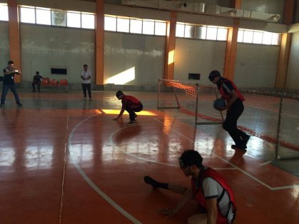 اللجنة الفرعية في ديالى تُنظم بطولة مصغرة لكرة الهدف