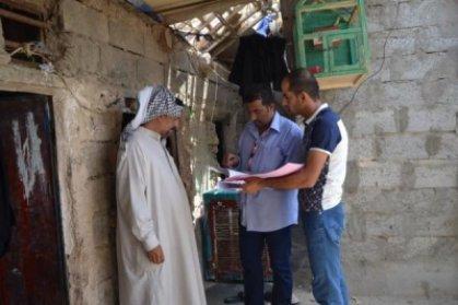 العمل تُحدث بيانات 130الف عائلة في بغداد تمهيدا لشمولهم بقانون الحماية الجديد