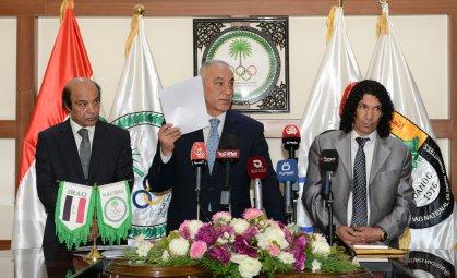 حمودي يؤكد مساعي اللجنة الأولمبية لمحاربة الفساد المالي في اروقة الرياضة العراقية
