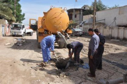 امين بغداد توجه دوائر البلدية صيانة شبكات المجاري استعدادا موسم الامطار