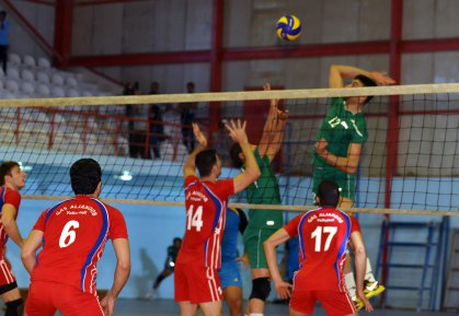 منتخبنا الوطني بالكرة الطائرة يحل سابعا في بطولة العرب للناشئين