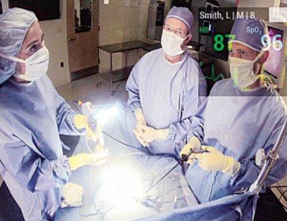 ثورة طبية بفضل «نظارة غوغل»