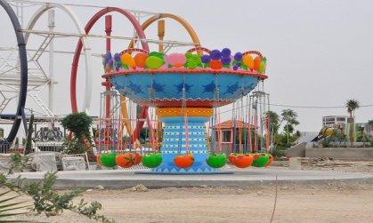 افتتاح اكبر مدينة ألعاب في كربلاء
