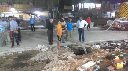 بغداد تباشر استعداداتها لموسم الامطار من اطرافها