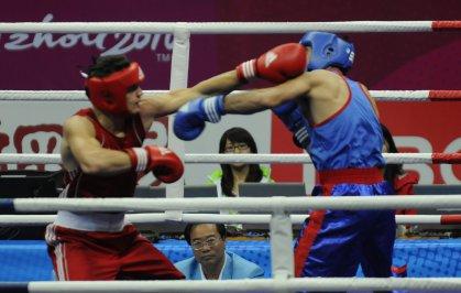 الملاكمون العراقيون يفقدون قبضاتهم في بطولة آسيا