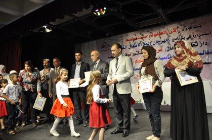 سلة منوعة من الفعاليات الثقافية لبراعم العراق
