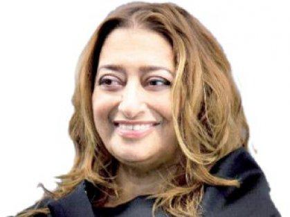 زها حديد أول امرأة تحصل على الميدالية الذهبية الملكية للعمارة