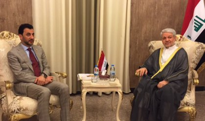 عبطان يبحث مع الزبيدي السبل الكفيلة باستمرار دعم وزارة النقل لنادي الزوراء