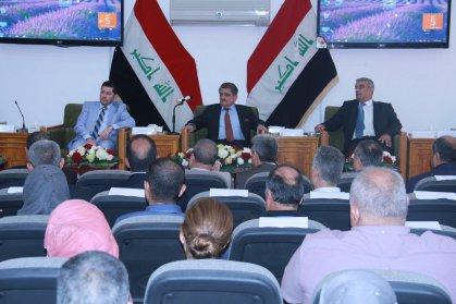 وزارة الاعمار والاسكان والبلديات تحتفل بيوم الاسكان العربي والعراقي