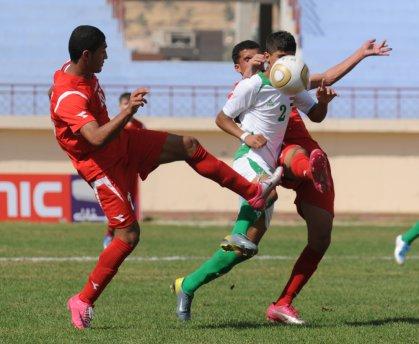 منتخبنا يسحق البحرين برباعية عراقية ويتأهل بالعلامة الكاملة لنهائيات البطولة