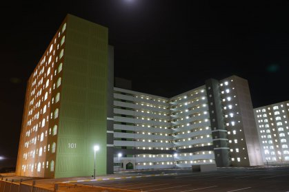 وزارة الاعمار تواصل تنفيذ اعمالها بمشروع مدينة بسماية السكني