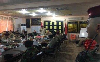 وزير الدفاع يدعو القطعات العسكرية الى مواجهة العدو بمهنية عالية