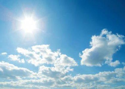 الطقس صحو مع بعض الغيوم والحرارة ترتفع قليلا في الايام المقبلة