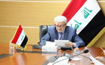 الزبيدي يوجه بإعادة تفعيل الخط البحري العراقي لنقل البضائع بالحاويات