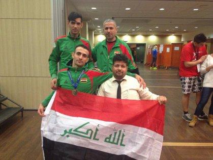 المبارز عمار هادي يخطف ذهبية كأس العالم للمبارزة على الكراسي
