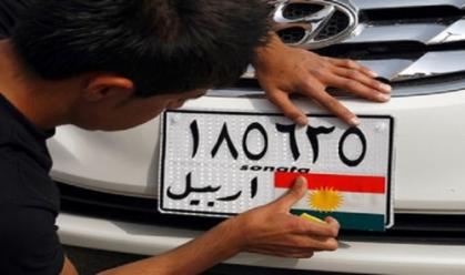 المرور: المبالغ المفروضة لتسجيل سيارات الاقليم هي بدل شراء رقم او تسقيط عجلة