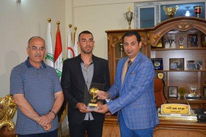 الجميلي يبارك تأهل الجذّاف محمد رياض الى اولمبياد ريو دي جانيرو
