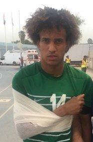 مازن فياض: إصابتي لاتدعو للقلق والعودة للملاعب ستكون قريبة