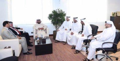 الاتحادان العراقي والاماراتي لكرة القدم يؤكدان ضرورة تطوير تعاونهما المشترك