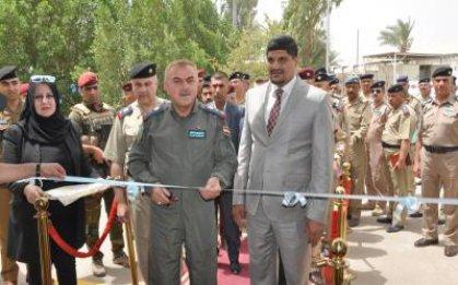 افتتاح معرض للصناعات النسيجية والجلدية في مقر قيادة القوة الجوية
