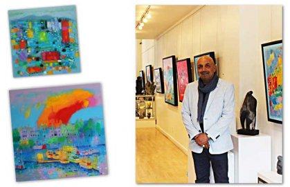 لوحات العراقي هاشم حنون… التمسك بوحدات خطاب الفن التعبيري