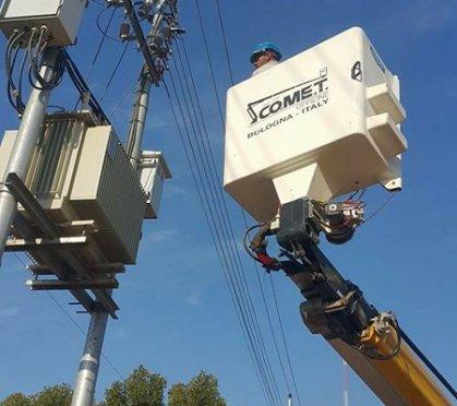 توزيع كهرباء ميسان تنجز أعمال تجهيز التيار الكهربائي لمقر كلية الأمام الكاظم (ع)