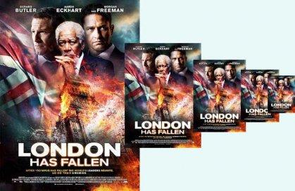فيلم «الهدف… لندن» : عيون أمريكا تحرس مدن الجمال وقلاع الحرية
