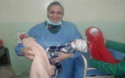 ولادة (3) توائم لسيدة عقيمة في مستشفى الشهيد الحكيم في بغداد