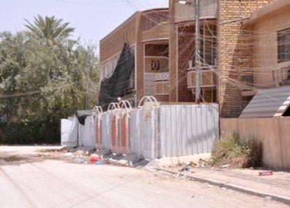 امانة بغداد تمنع تشييد واجهات الدور على الأرصفة وتتوعد بتغريم المخالفين
