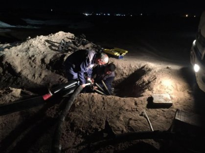 النصراوي يأمر بتحقيق فوري حول احراق قابلو كهربائي في البصرة