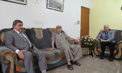 أمانة بغداد تكرم اللاعب السابق احمد صبحي