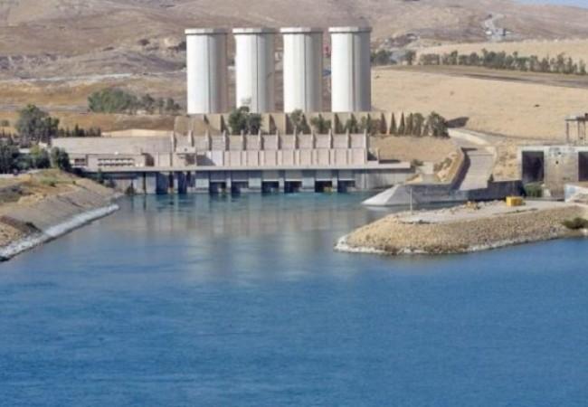 المياه النيابية : وضع سد الموصل مطمئن