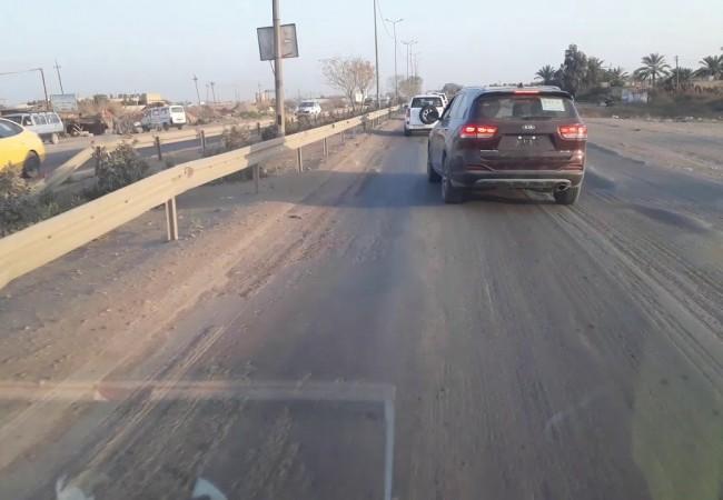 كهرباء بغداد تباشر بانارة شارع بغداد / تاجي
