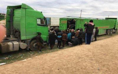 الشركة العامـة للنقل البري دور بارز في نقل ومساعدة النازحين