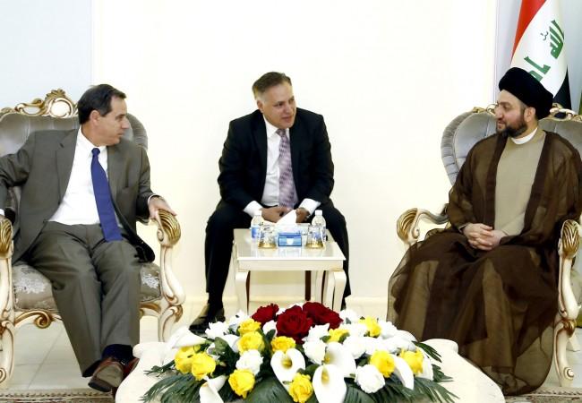 السيد عمار الحكيم يؤكد على أهمية مواكبة المعالجات الامنية بخطوات سياسية لصالح الوحدة والانسجام