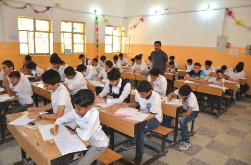 ميسان تعلن نجاح خطة اجراء الامتحانات الوزارية للمرحلة الابتدائية