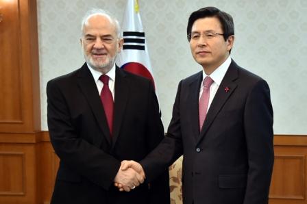 رئيس وزراء كوريا: نسعى لزيادة الاستثمارات والمساهمة في إرساء الأمن والاستقرار في العراق
