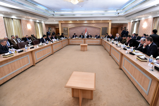 العراق يبحث تفعيل بنود اتفاقيّة الإطار الإستراتيجي مع الولايات المتحدة