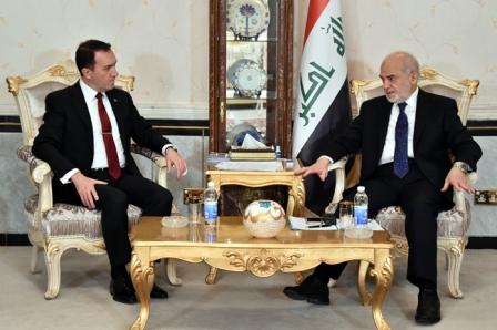 السفير التركي للجعفري..نتمسَّك بالعلاقات ونسعى لتطويرها مع العراق من أجل تحقيق الأهداف المُشترَكة