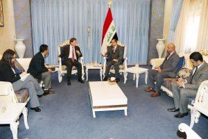 الجبوري للسفير البريطاني: ضرورة استمرار الدعم الدولي لإدامة زخم المعركة في الموصل