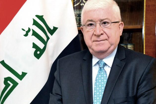 رئيس الجمهورية يعزي بوفاة الطبيب العراقي الرائد {إحسان البحراني}