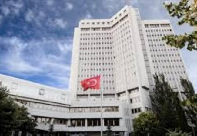 مذكرات تركية لاعتقال 249 موظفاً في وزارة الخارجية