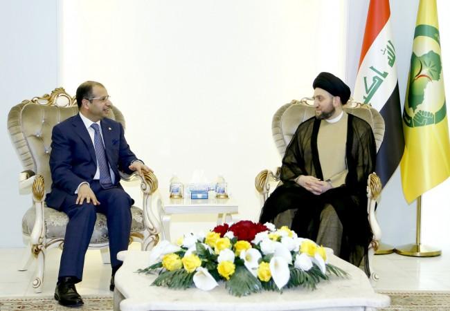 ملف الاصلاح محور مباحثات السيد عمار الحكيم والجبوري