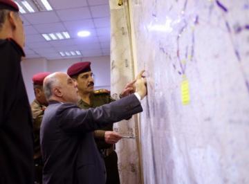 العبادي: وعد التحرير النهائي والانتصار التام في الموصل قد اقترب