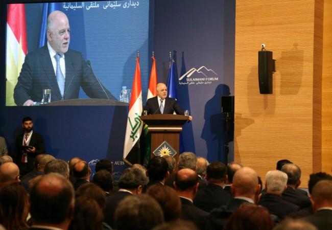 العبادي: معركتنا مصيرية ولن نتردد بقصف داعش خارج العراق