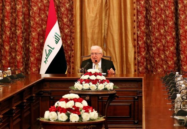 معصوم: العراق يطمح إلى علاقات متوازنة مع البلدان الشقيقة والمجاورة