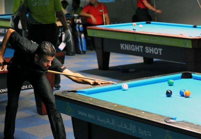 لاعب واحد يمثل العراق في بطولة العالم بالبليارد